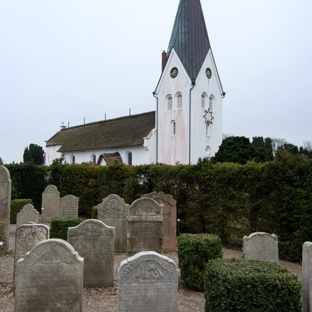 """""""AMRUM, GERMANY - JANUARY 01, 2020: In Nebel on the North Frisian Island Amrum..."""" stock image"""