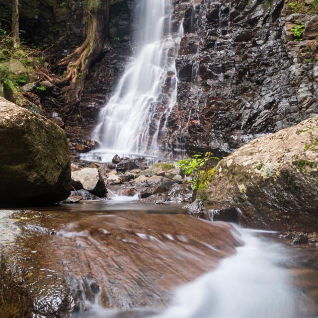"""Hahanoshirataki Waterfall, Japan"" stock image"