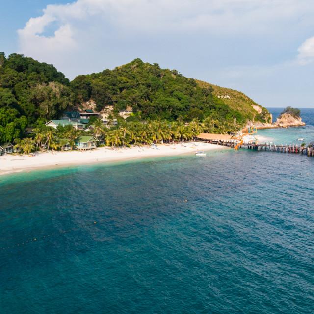 """""""Rawa Island Malaysia"""" stock image"""