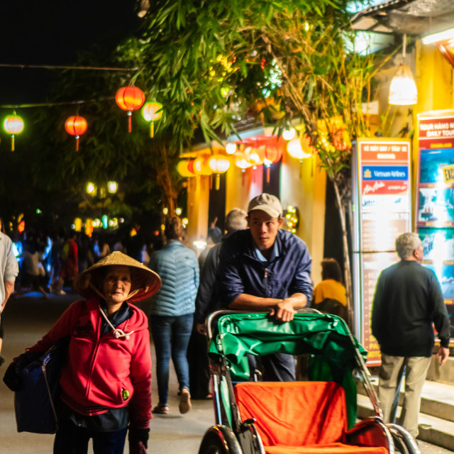 """""""The Streets of Hoi An, Vietnam"""" stock image"""