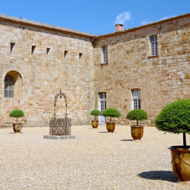 """""""Inner courtyard"""" stock image"""