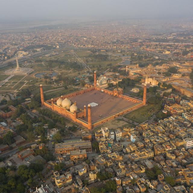 """Badshahi Mosque Lahore"" stock image"