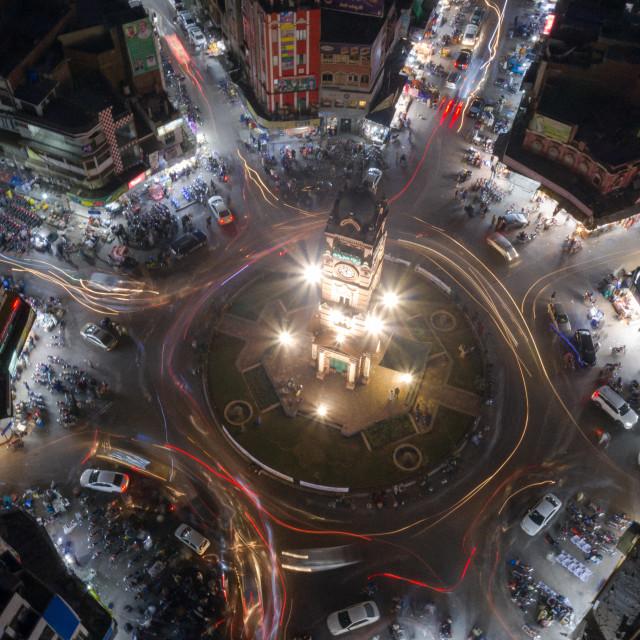 """Clock Tower Ghanta Ghar"" stock image"