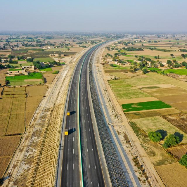 """""""Motorway M5"""" stock image"""