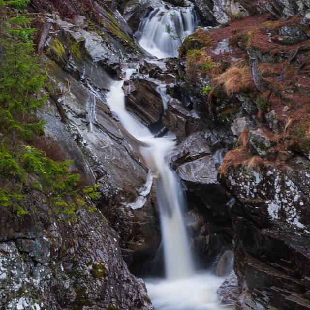 """""""Scottish Waterfall"""" stock image"""