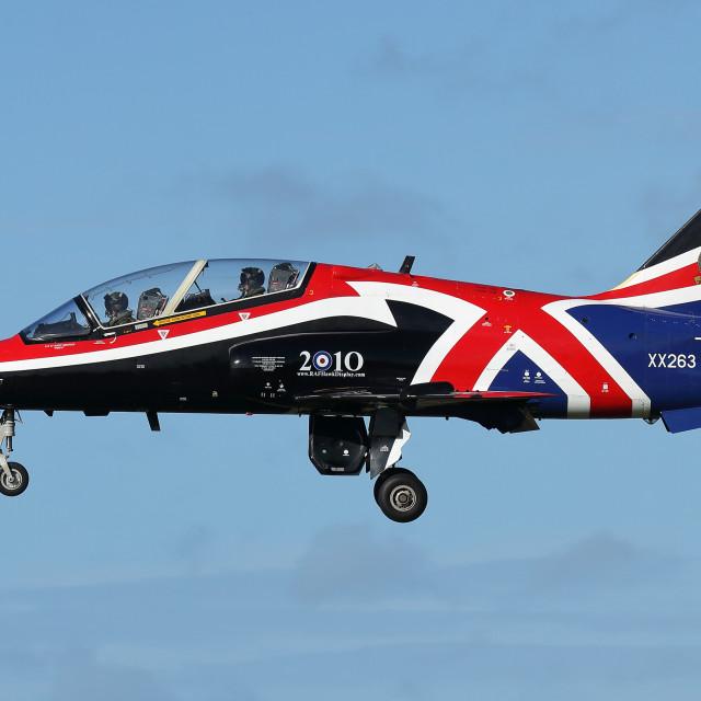 """Royal Air Force Hawk T1A XX263"" stock image"