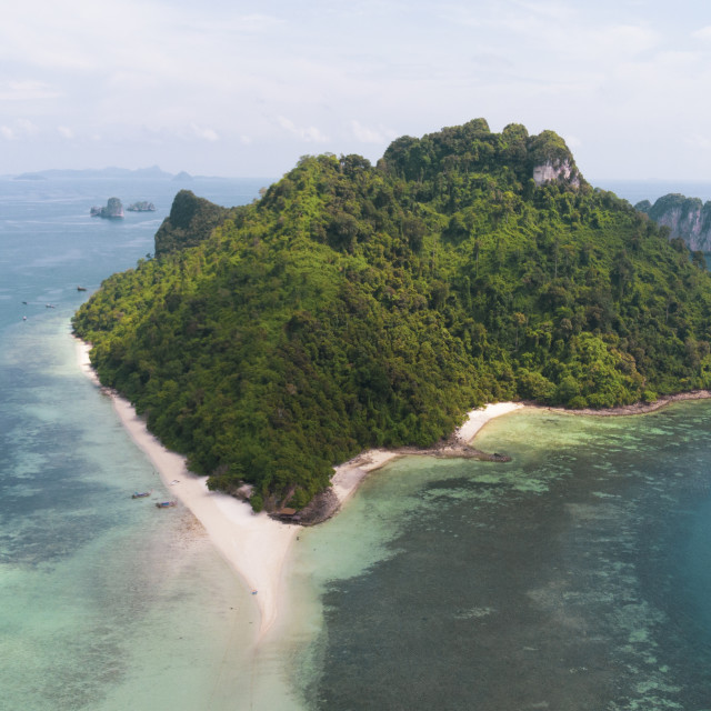 """""""Aerial of Thailand Island"""" stock image"""