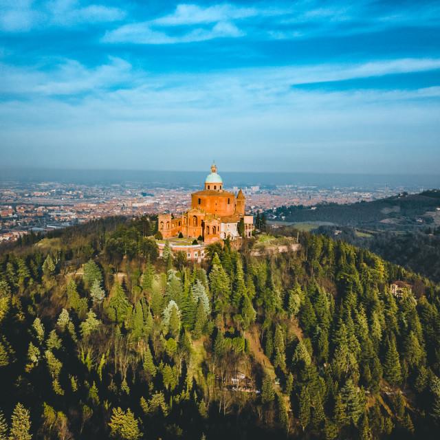 """""""Basilica San Luca"""" stock image"""