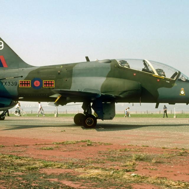 """Royal Air Force Hawk T1A XX339"" stock image"