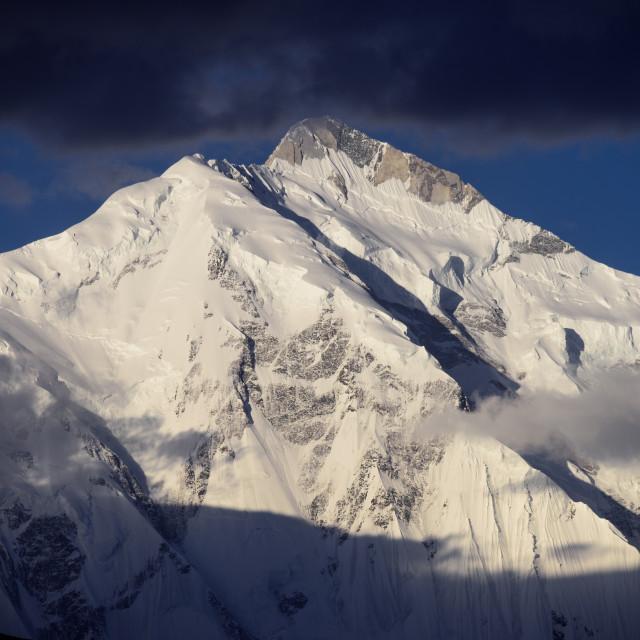 """""""Rakaposhi Peak"""" stock image"""