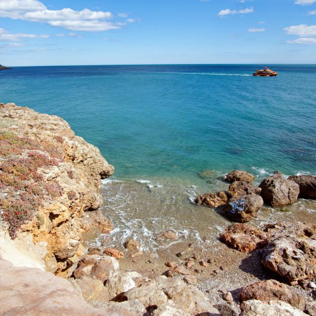 """Sète coast"" stock image"