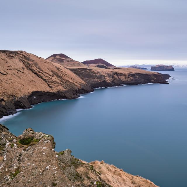 """Vestmannaeyjar island, Iceland"" stock image"