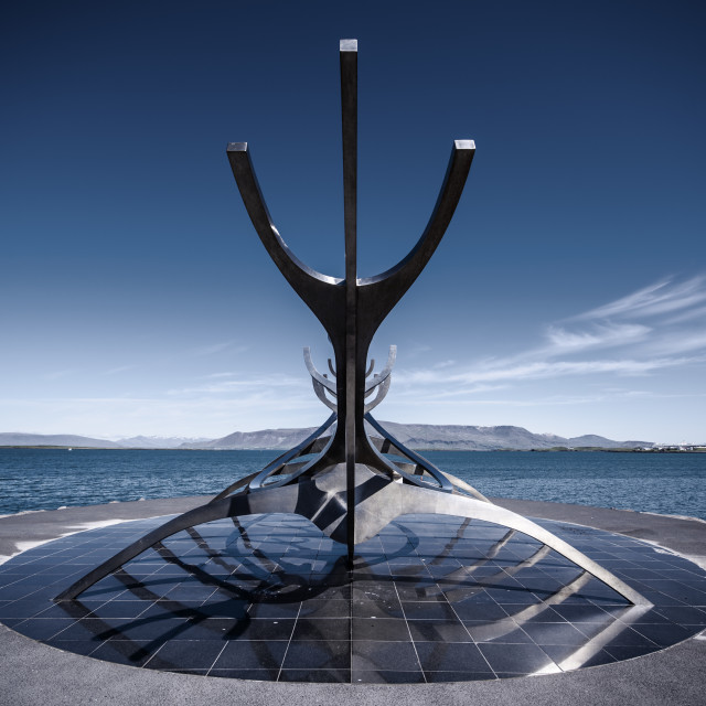 """""""The Sun Voyager"""" stock image"""