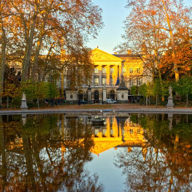 """""""Brussels Park ,Belgium"""" stock image"""