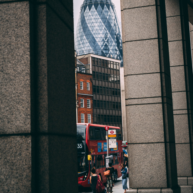 """Concrete Jungle - London, United Kingdom"" stock image"