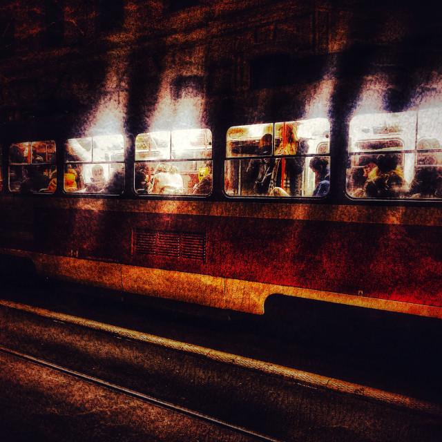 """Brno Tram"" stock image"