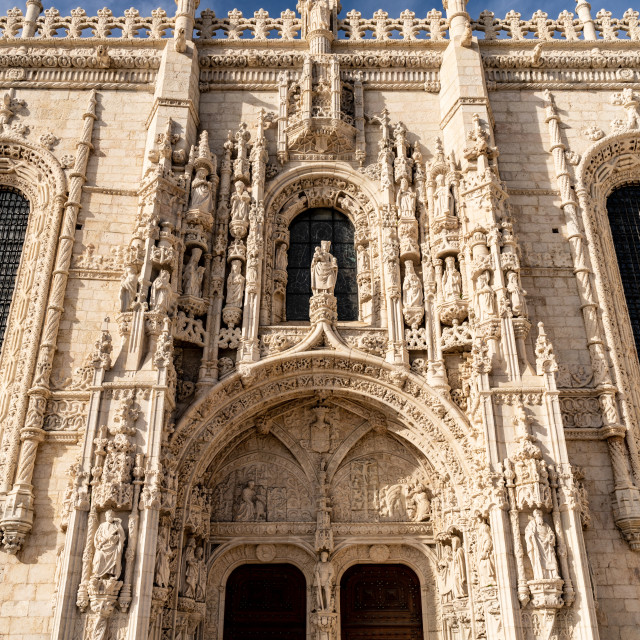 """Mosteiro do Jeronimos"" stock image"