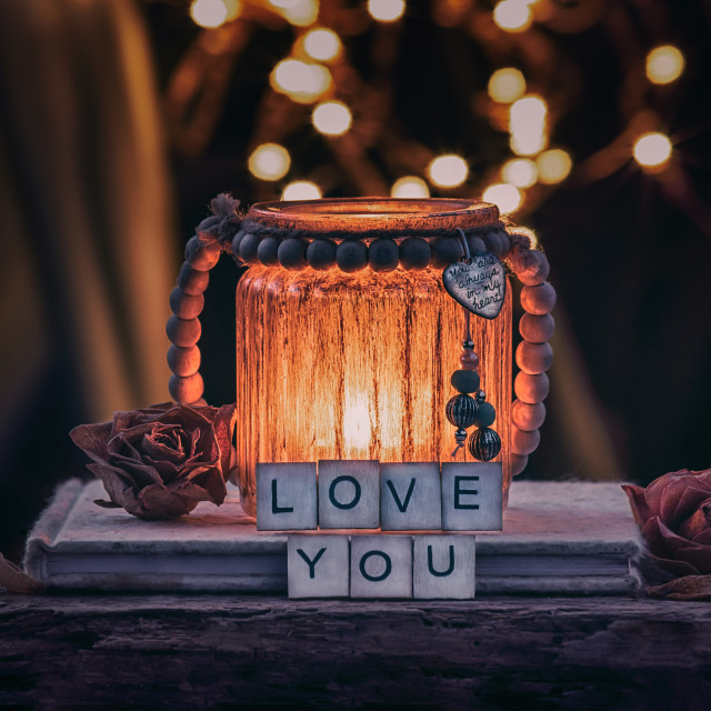 """Love You"" stock image"