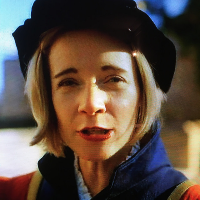 """Lucy Worsley- English Historian."" stock image"