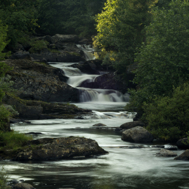 """River in Gausdal"" stock image"