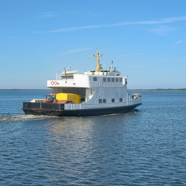 """Ferry,Ruegen,baltic Sea,Germany"" stock image"