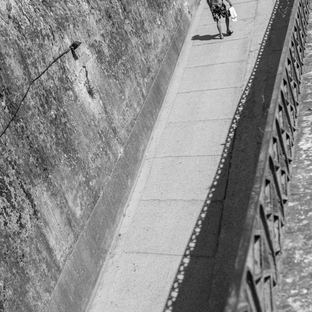"""Walking The Path"" stock image"