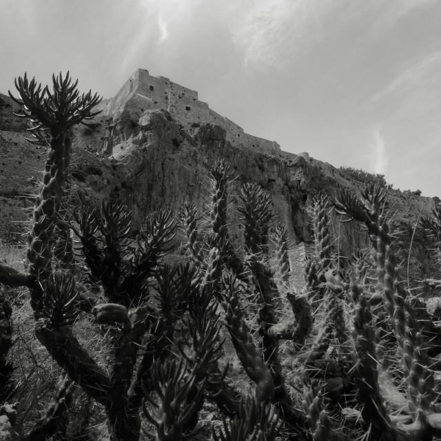 """""""Monemvassia, Greece"""" stock image"""
