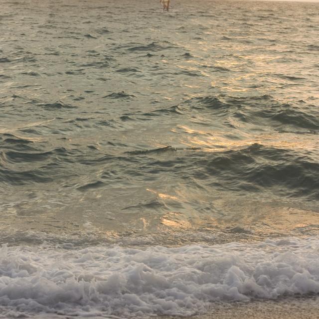 """Ionian Sea"" stock image"