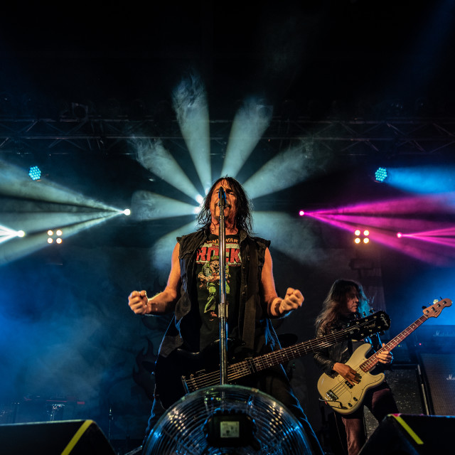 """""""Monster Magnet at Live Music Club (MI) 18-02-2020"""" stock image"""