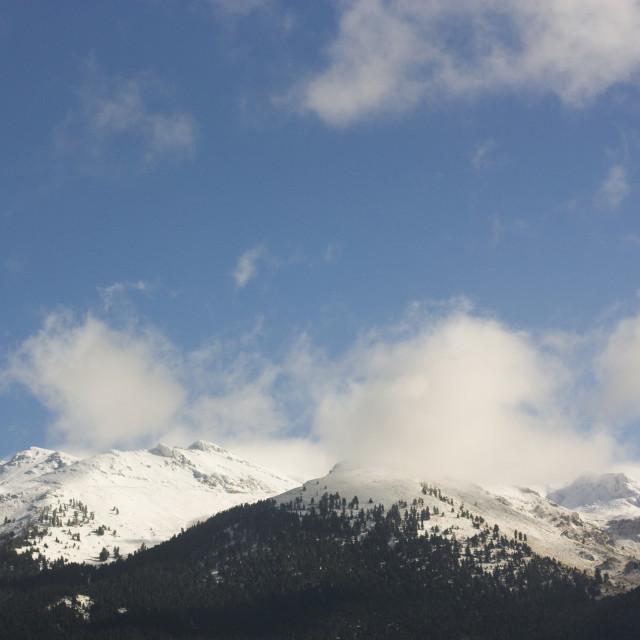 """""""Mount Helmos"""" stock image"""