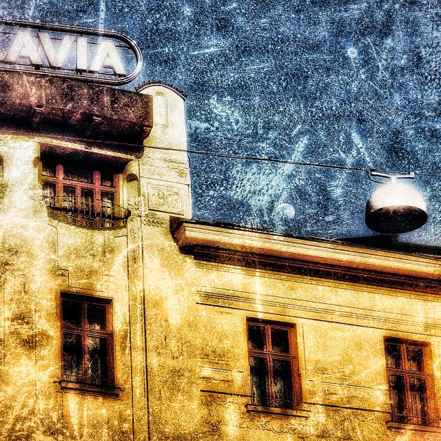 """Slavia Hotel Brno"" stock image"