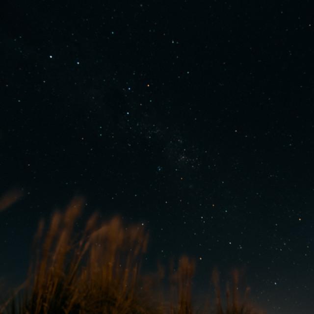"""Stargazing in Puno"" stock image"