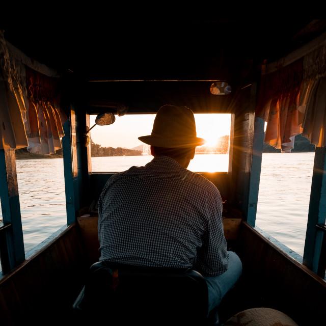 """""""The Mekong"""" stock image"""
