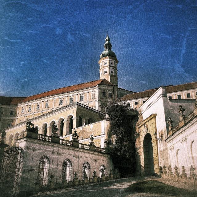 """Mikulov Castle"" stock image"