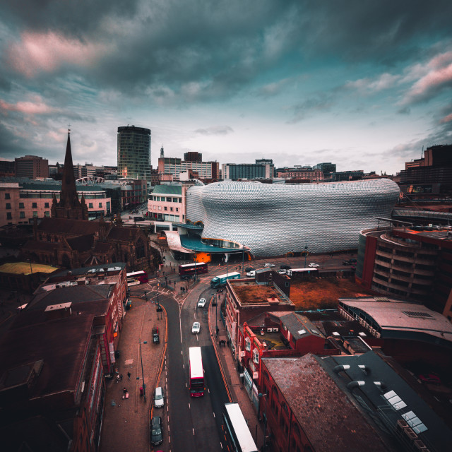 """City & Sky"" stock image"