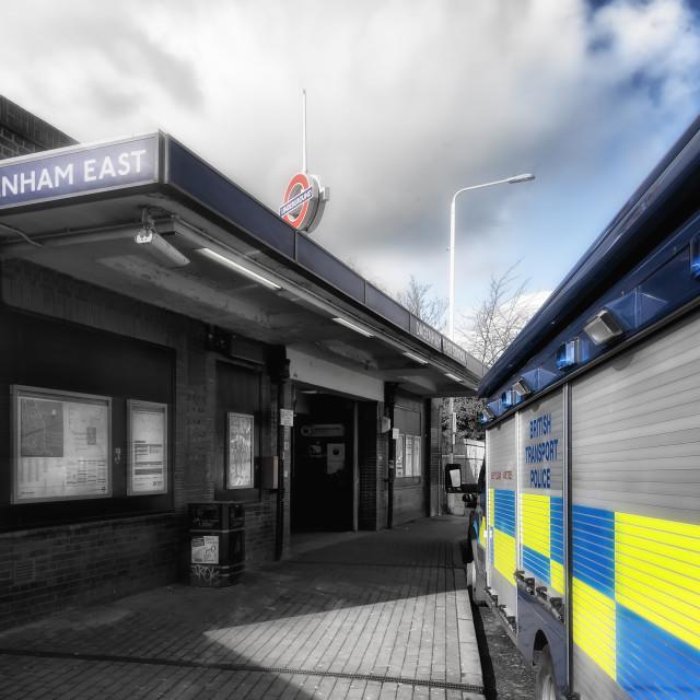 """""""Dagenham East"""" stock image"""
