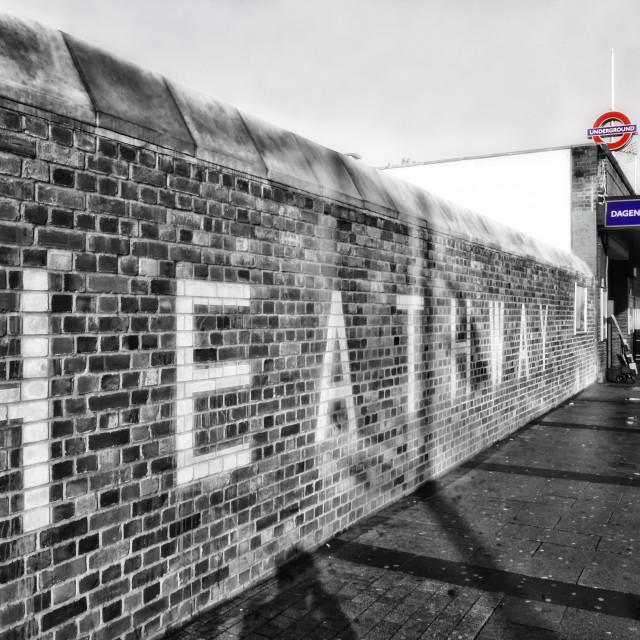 """""""Dagenham Heathway"""" stock image"""