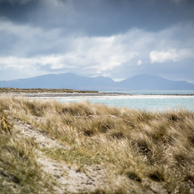 """""""The Uists"""" stock image"""