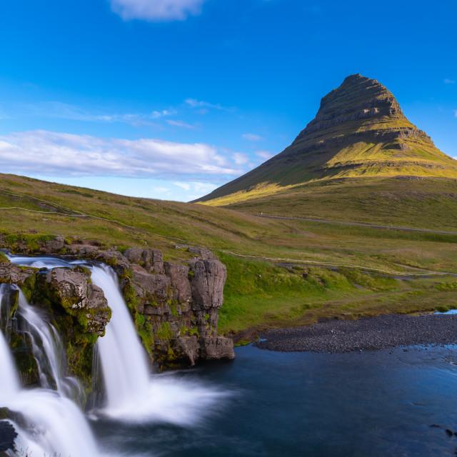 """Kirkjufell Mountain"" stock image"