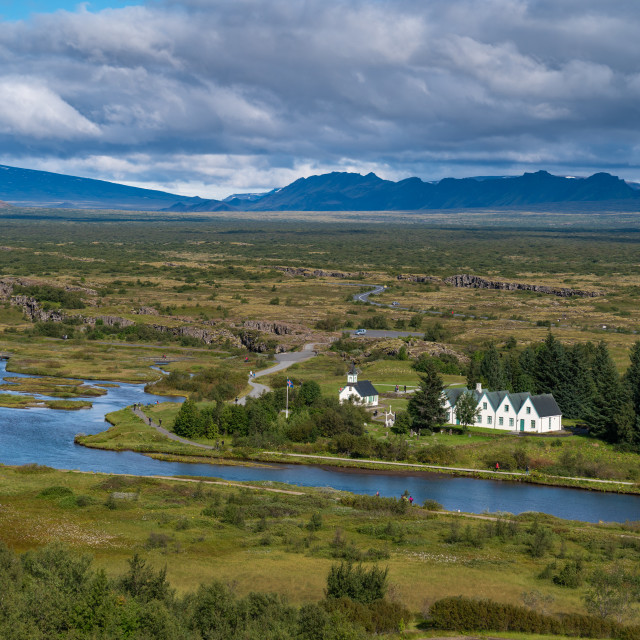"""Thingvellir National Park"" stock image"