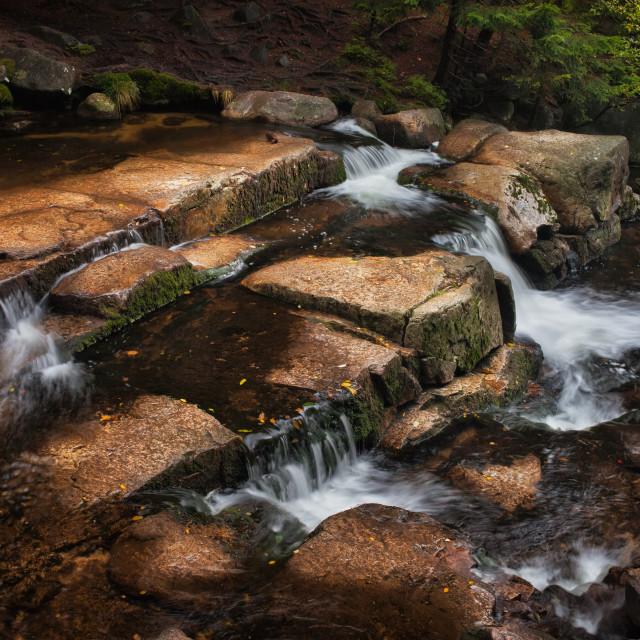 """Mountain Creek"" stock image"