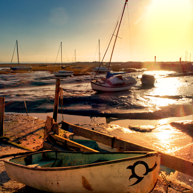 """Leigh on Sea, Essex"" stock image"