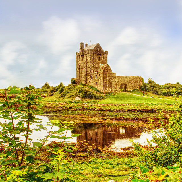 """Dunguaire Castle County Galway"" stock image"