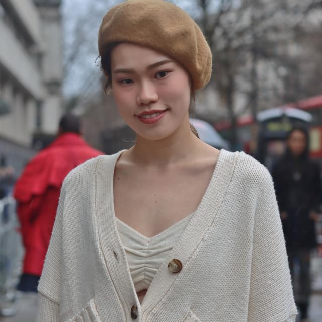 """London Fashion week."" stock image"