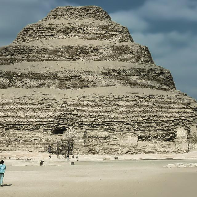 """Giza Pyramids"" stock image"