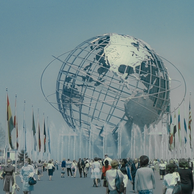 """1964 Worlds Fair in Queens, NY"" stock image"