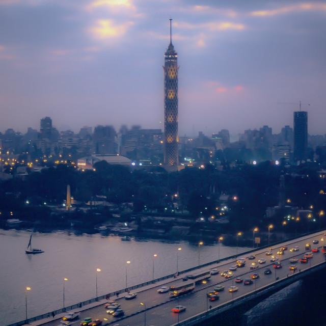 """Cairo Tower, Egypt"" stock image"