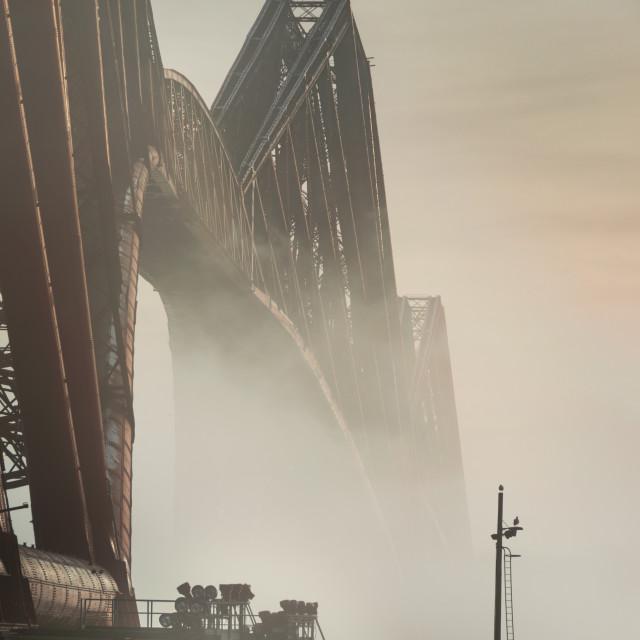 """Forth Bridge Haar"" stock image"