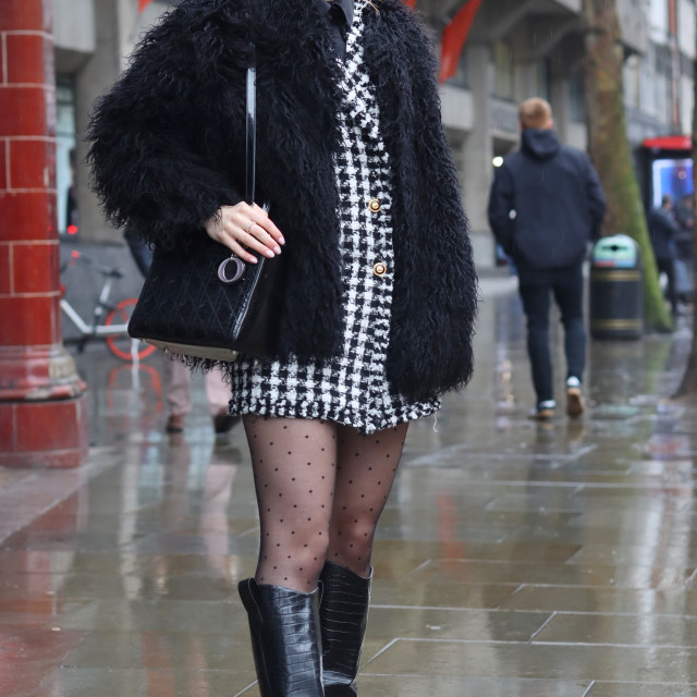 """Street fashion."" stock image"
