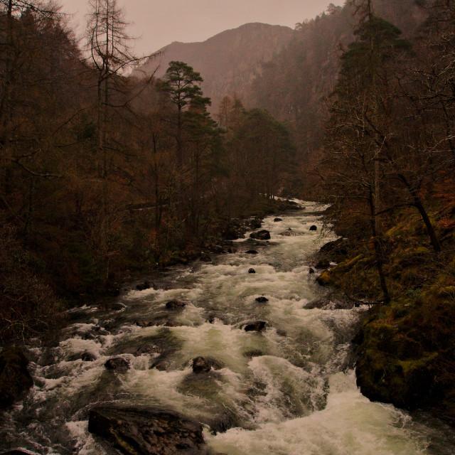 """Wild River"" stock image"